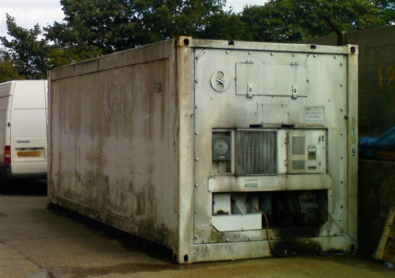 Refridgerated Shipping container