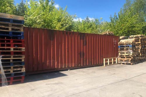 Shipping container removal, shipping container disposal, shipping container scrap. Removal of shipping container, Disposal of shipping container036 (1)