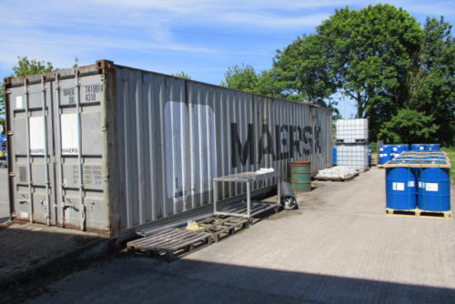 Shipping container removal, shipping container disposal, shipping container scrap. Removal of shipping container, Disposal of shipping container038 (1)
