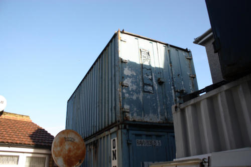 Shipping container removal, shipping container disposal, shipping container scrap. Removal of shipping container, Disposal of shipping container10