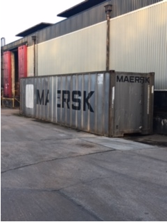 Shipping container removal, shipping container disposal, shipping container scrap. Removal of shipping container, Disposal of shipping container3